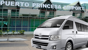 VAN RENTAL-Puerto princesa to AIRPORT