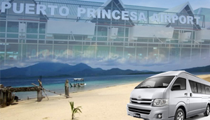 VAN RENTAL- airport to honda bay